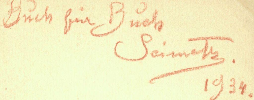 Seimetz - Unterschrift